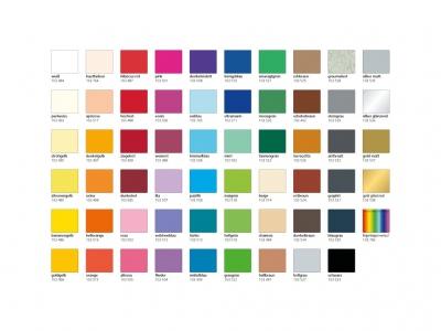 Farbmusterkarte / Kostenlos