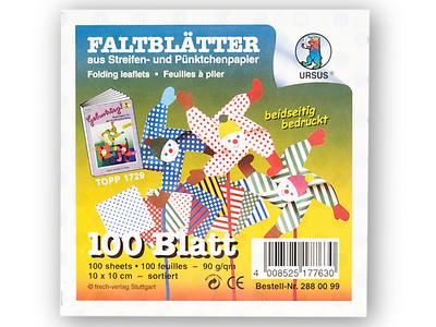13,5x13,5cm NEU Strohseide-Faltblätter 100 Blatt