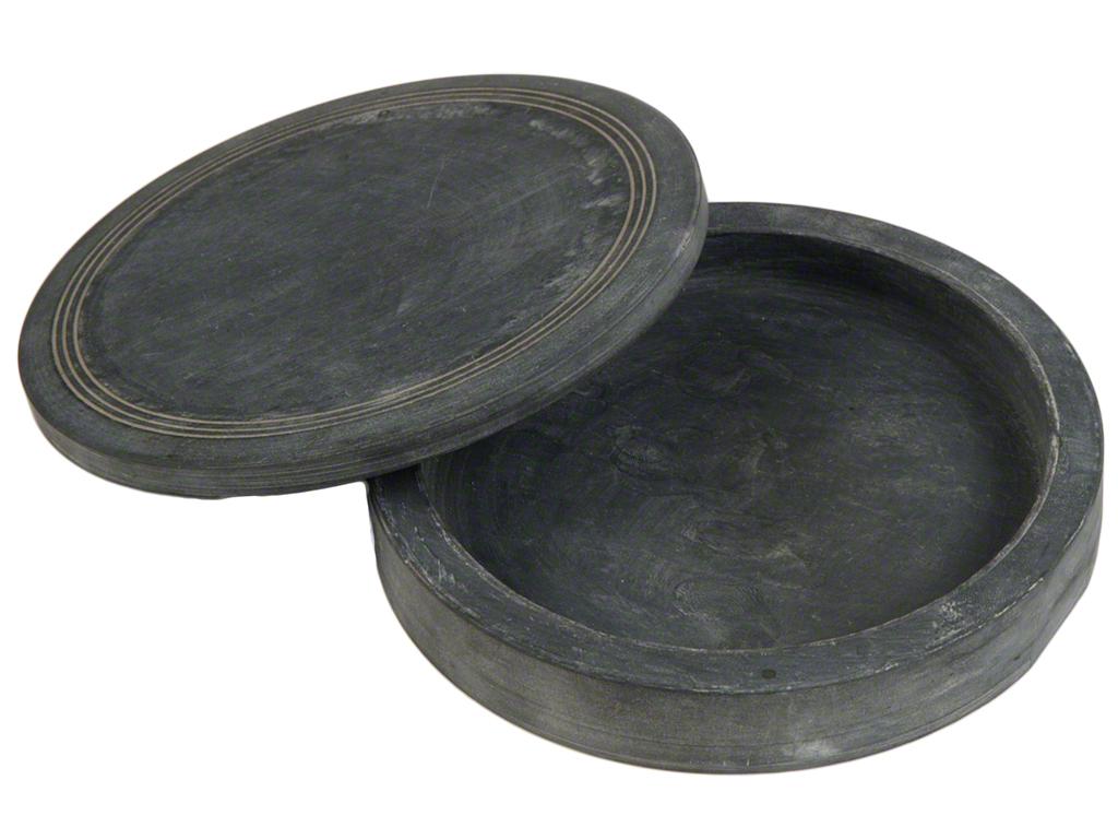 Reibeschale mit deckel rund ca 12 5 cm durchmesser for Deckel rund 60 cm