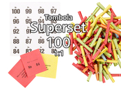 100-er Tombola Superset 1:1, bunt gemischt