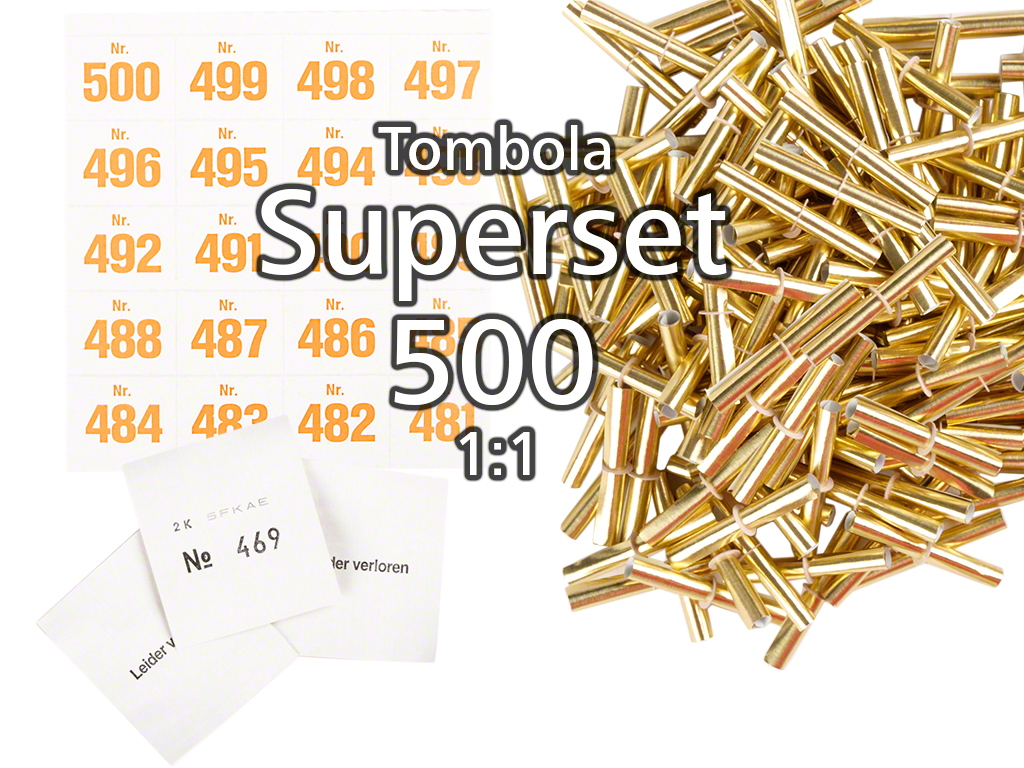 500 er tombola superset 1 1 gold gl nzend. Black Bedroom Furniture Sets. Home Design Ideas